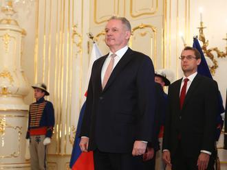 NAŽIVO Prezident Andrej Kiska vymenoval troch ústavných sudcov