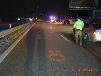 Keď alkohol úraduje: FOTO Opitú chodkyňu zrazilo auto na rýchlostnom privádzači v Košiciach