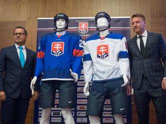 Slováci zrejme odohrajú MS v hokeji 2019 v dresoch s trojvrším namiesto hokejok