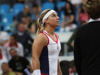Cibulková nedala Alvesovej žiadnu šancu, Slovensko vedie vo Fed Cupe nad Brazíliou