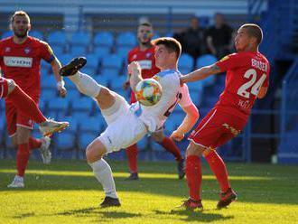 Nitra vydolovala bod v nadstavenom čase, Spartak prehral a Trenčín remizoval