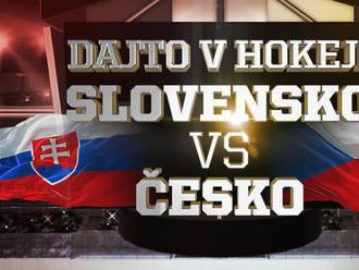Dajto v hokeji: Pozrite si prípravné derby Slovensko vs Česko