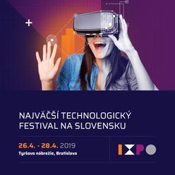 Slováci sa môžu tešiť na nový festival inovácií a technológií: IXPO 2019