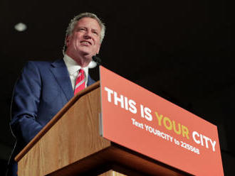 Demokratický starosta New Yorku de Blasio chce být prezidentem
