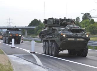 Českem projede další vojenský americký konvoj