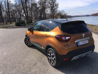 Rodinka TEST: Osviežený Renault Captur 1.3TCe