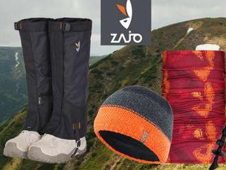 Trekingové palice, čiapky, ponožky a multifunkčné šatky pre turistov od slovenskej značky ZAJO.