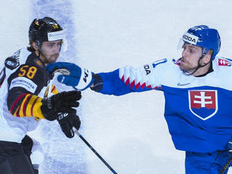 Slováci prehrali v kľúčovom zápase s Nemeckom