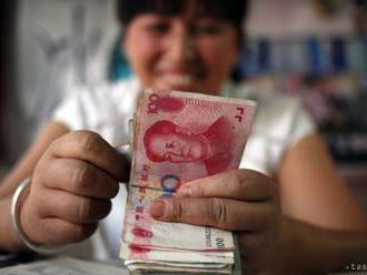 Jüan pokračuje v oslabovaní, jeho kurz sa pohybuje nad 6,9 CNY/USD