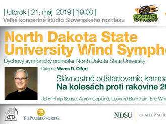 North Dakota State University Wind Symphony Orchestra v Bratislave