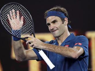 Federer pre zranenie nohy odstúpil z turnaja ATP v Ríme