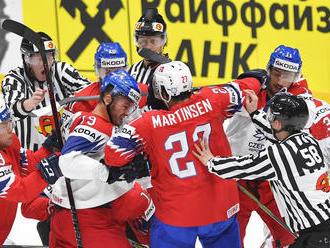 Nórski hokejisti zdolali Rakúsko, ktoré je na MS stále bez bodu
