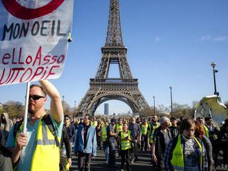 Francúzsko malo napriek protestom žltých viest rekordný turizmus