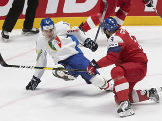 Českí hokejisti rozdrvili Talianov, Frolík s Jaškinom dali po dva góly