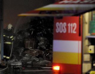Žilina vyhlásila v súvislosti s nočným požiarom mimoriadnu situáciu