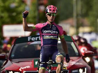Víťazom 6. etapy Gira Masnada, na čele poradia nový líder Conti