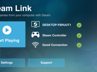 Valve's Steam Link game-streaming app launches on iOS     - CNET