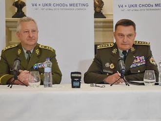 Náčelník generálneho štábu OS SR odovzdal predsedníctvo vo V4 českému kolegovi