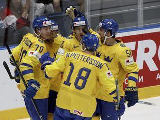 Švédsko – Rakúsko 9:1 v B-skupine, obhajca vybavil zápas za 6 minút