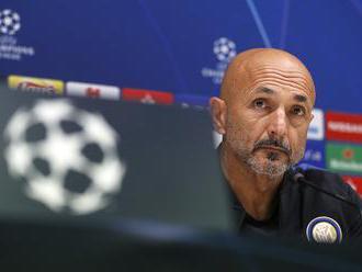 Inter Miláno si skomplikoval boj o Ligu majstrov. Máme to vo vlastných rukách, hovorí tréner Spallet