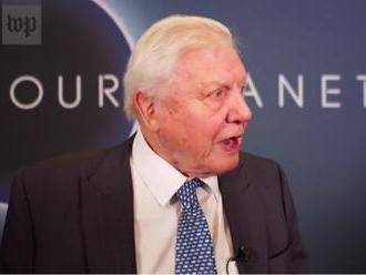 David Attenborough: Život na zemi závisí od toho, čo budeme robiť najbližších dvadsať rokov