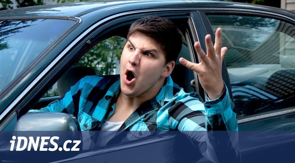 V Británii vzrůstá agresivita za volantem, v Česku na to důkazy nejsou