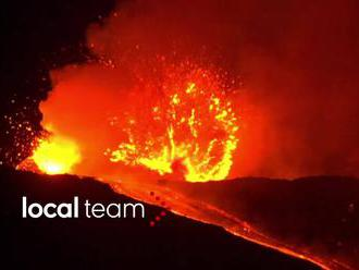 Sicilská Etna: nejaktivnější sopka Evropy se znovu probudila