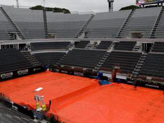 Italian Open: Rain washes out Wednesday's play