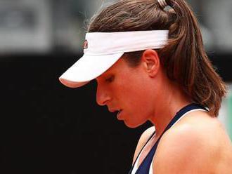 Konta beaten by Pliskova in Italian Open final