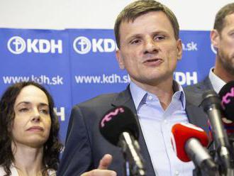 KDH: Dvere do hnutia sú otvorené, účelové koalície ale odmietajú