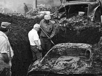 Dvě děti se před 41 lety postaraly o nález století, ve stodole našly pod zemí Ferrari