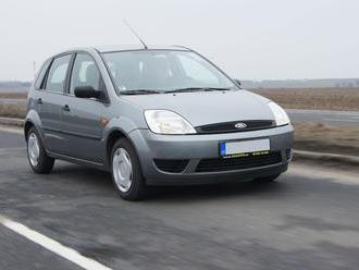 Test ojetiny: Ford Fiesta  levný a líbivý