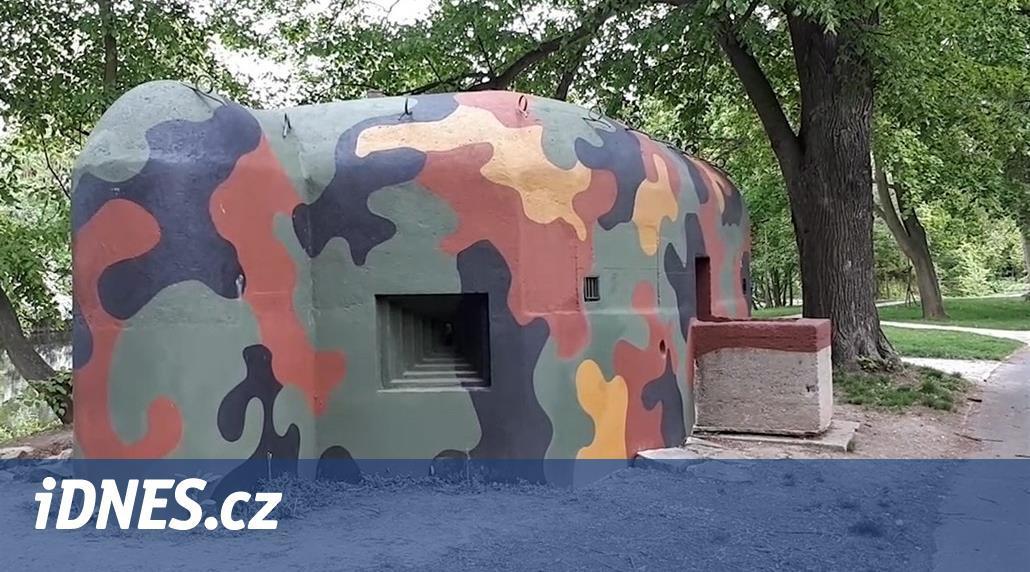 Unikátní lounské bunkry Němci zalili betonem, nyní se řopíky opravují