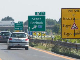 Na diaľnici D1 čakajú vodičov v najbližších dňoch obmedzenia
