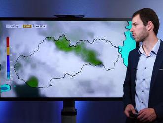 Videopredpoveď: Poriadne mokrý a búrkový týždeň
