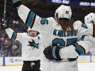 Karlsson udrel v predĺžení a priblížil San Jose k finále