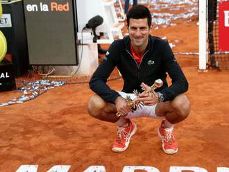 V Nadalovej obývačke. Djokovič si podmanil turnaj v Madride