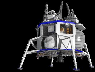 Jeff Bezos predstavil vesmírnu loď, ktorú chce poslať na Mesiac