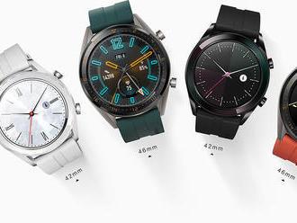 Test: Huawei Watch GT sú inteligentné hodinky s rekordnou výdržou