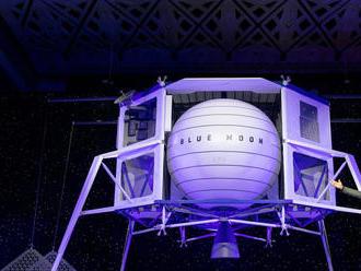 Šéf Amazonu ukázal modul, ktorý má do roku 2024 pristáť na Mesiaci