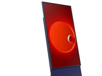 Samsung predstavil zvláštny televízor s obrazovkou otočenou na výšku