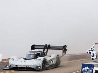 VW I.D. R Pikes Peak: Elektrický špeciál prekonal všetky rekordy