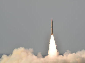 Pakistan úspešne otestoval balistickú raketu stredného doletu Šahín-II