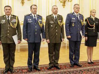 Prezident Kiska vymenoval nových generálov polície a ozbrojených síl