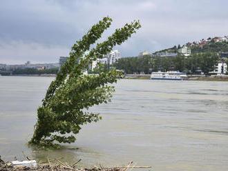 Hydrológovia očakávajú opätovný vzostup hladiny Dunaja