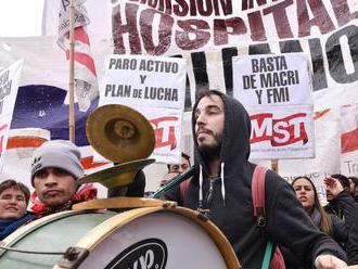 Život v Argentíne narušil 24-hodinový generálny štrajk