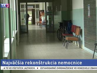 Nemocnica v Brezne sa zmenila na stavenisko, čaká ju modernizácia