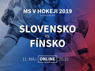 fe266447ffb5f Slovensko - Fínsko: Online prenos z MS v hokeji 2019   News.sk