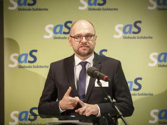 SaS s novou výzvou na koalíciu: Žiadajú ich o rokovanie pred voľbou ústavných sudcov