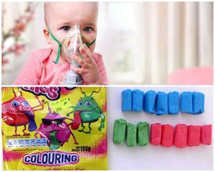 Cukríky na FOTO obsahujú jedny z najnebezpečnejších farbív: Spôsobujú astmatický záchvat!